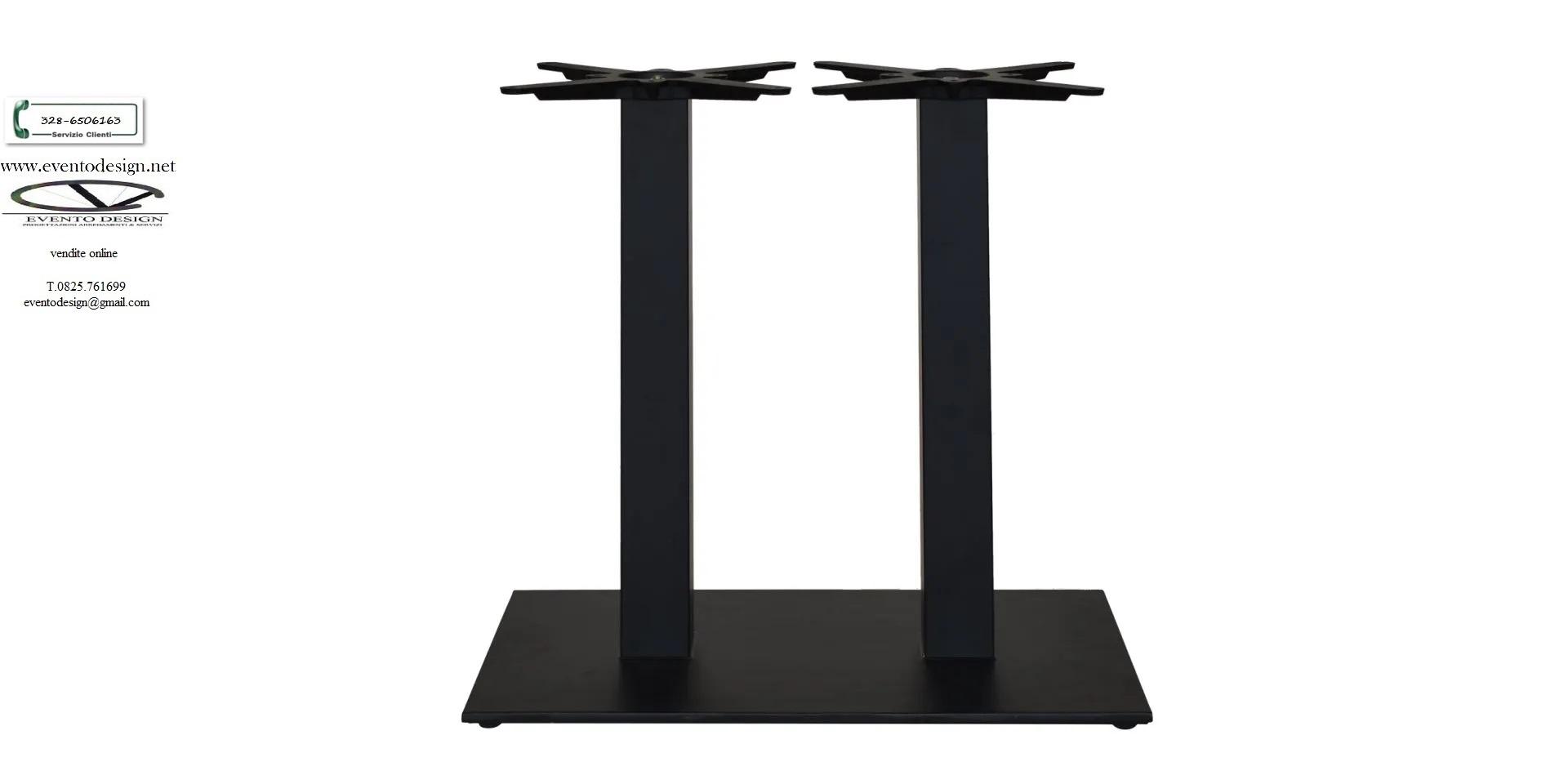 base tavolo doppia art. g.766